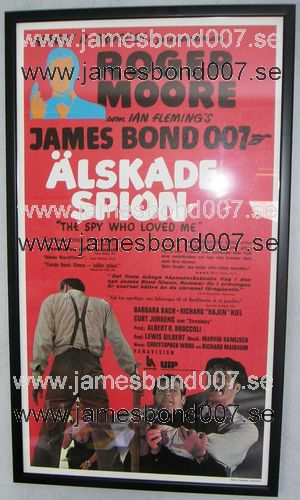 Älskade spion (The Spy Who Loved Me) Original, 30x70 cm