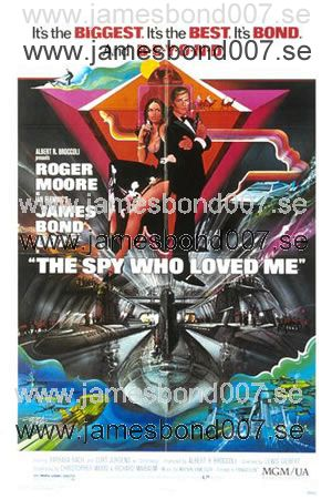 The Spy Who Loved Me (1977) Reproduktion