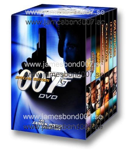 THE JAMES BOND COLLECTION, Volume 1 Region 1