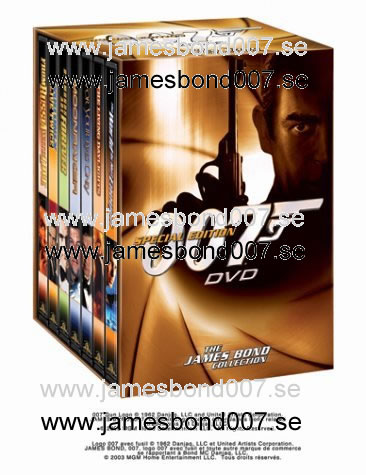 THE JAMES BOND COLLECTION, Volume 2 Region 1