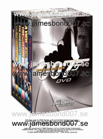 THE JAMES BOND COLLECTION, Volume 3 Region 1