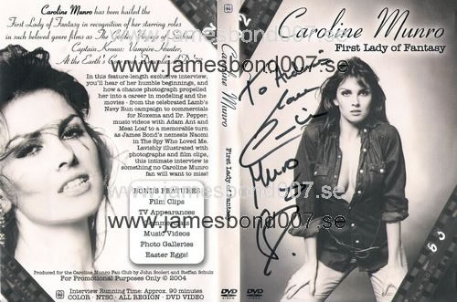 Caroline Munro - First Lady of Fantasy NTSC