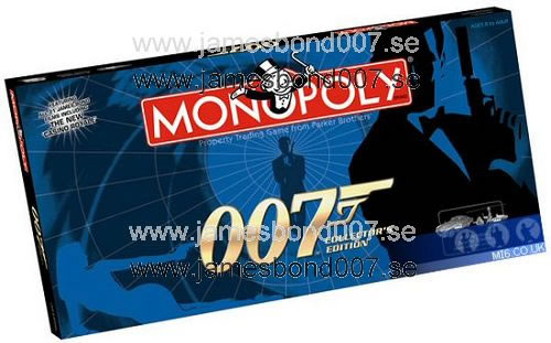 James Bond 007 Monopoly Collectors edition