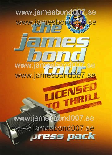 The James Bond Tour - Licensed to Thrill Original