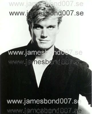 Dolph Lundgren Black and white