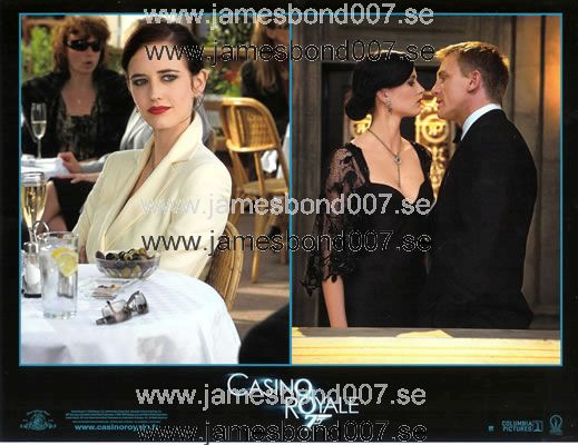 Eva Green and Daniel Craig Colour