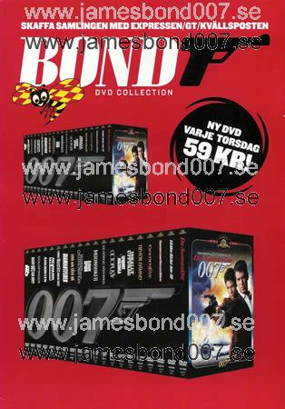Bond DVD kampanj Original