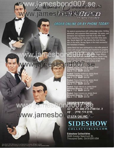 James Bond 12 tums Legacy Collection Original