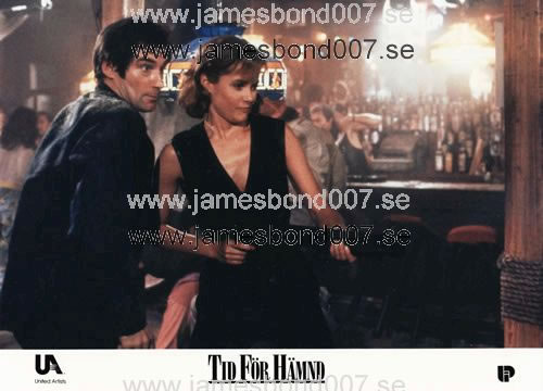 Timothy Dalton and Carey Lowell Colour