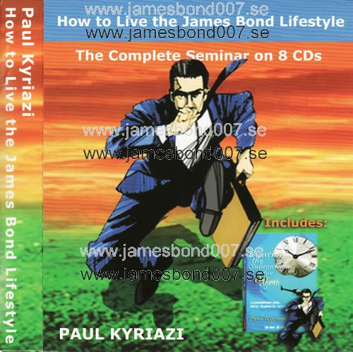 How To Live The James Bond Lifestyle Paul Kyriazi