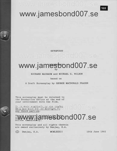 Original screenplay, 141 pages Original