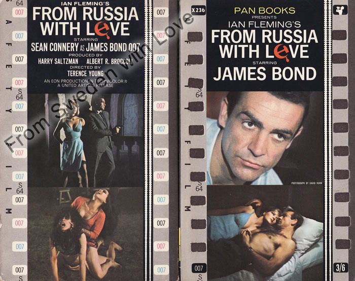 From Russia with Love (Kamrat mördare) Ian Fleming