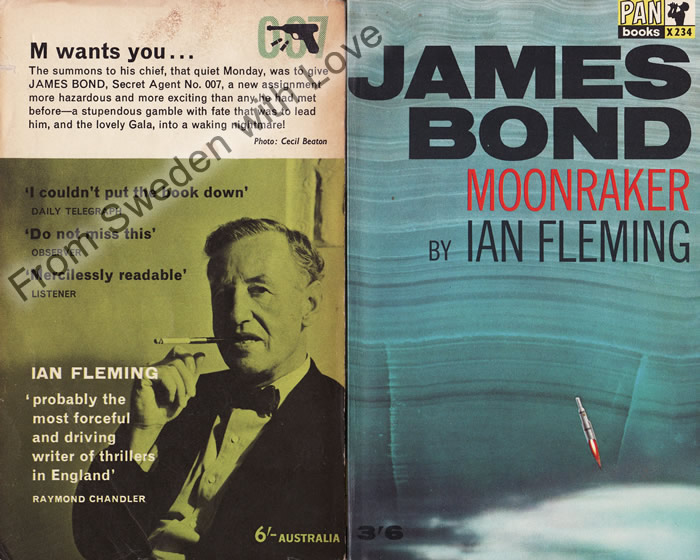 Moonraker (Attentat) Ian Fleming
