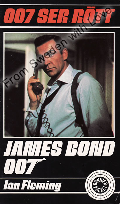 007 ser rött (From Russia with Love) Ian Fleming