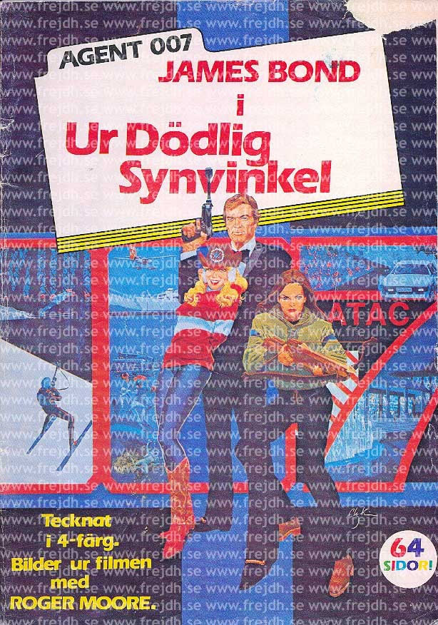 Ur dödlig synvinkel (For Your Eyes Only) First edition