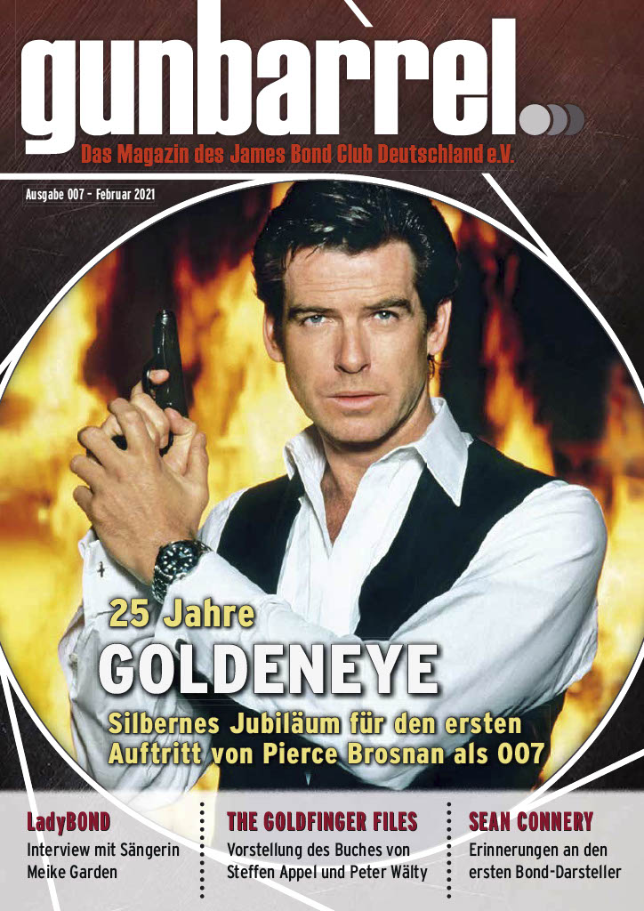 Gunbarrel James Bond Magazine 007