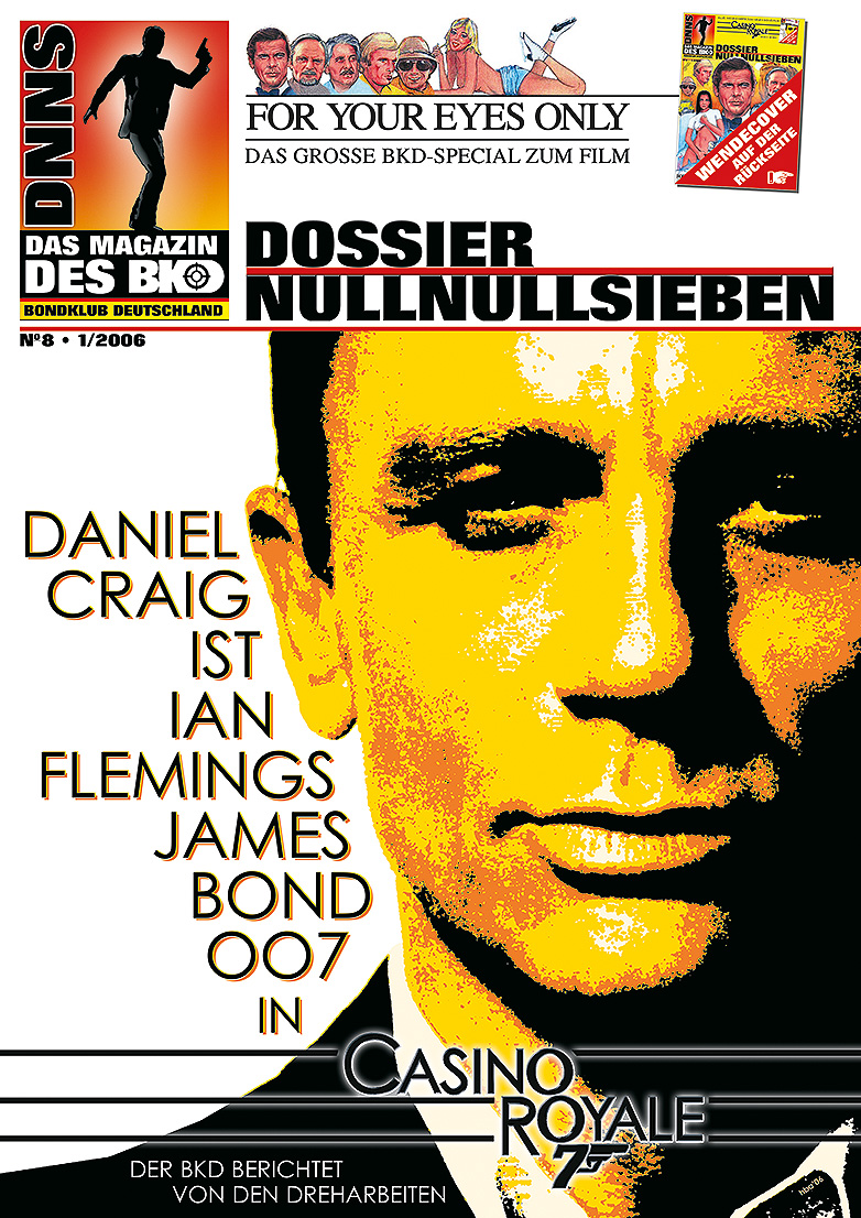 Null Null Sieben 8 James Bond magazine