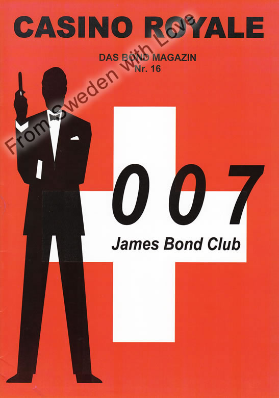 Casino Royale 16 James Bond Club Schweiz