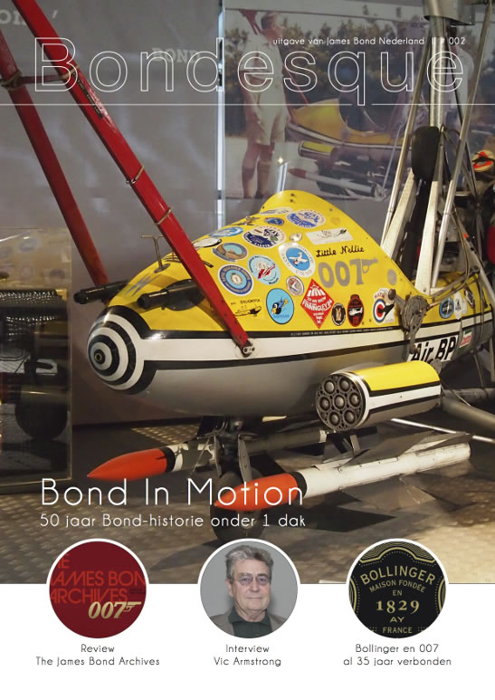 Bondesque 2 dutch james bond magazine