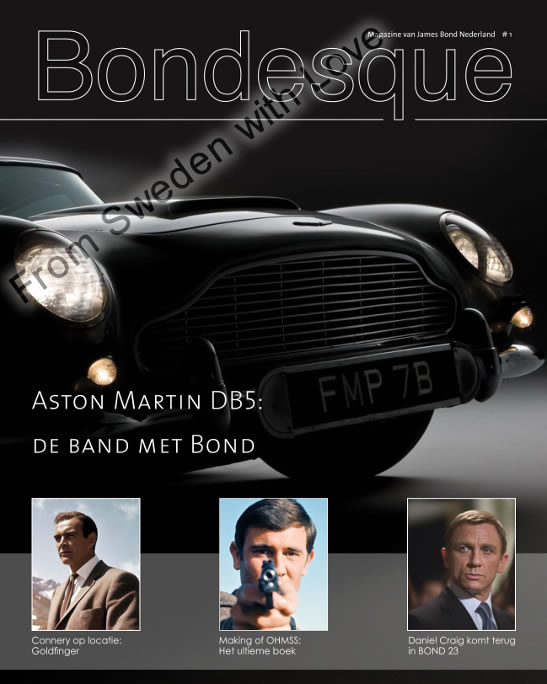 Bondesque1 dutch bond magazine