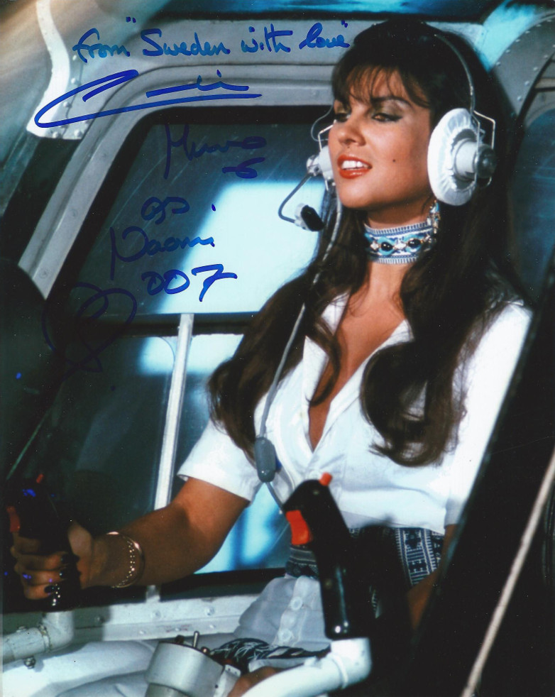 Caroline Munro From Sweden with Love