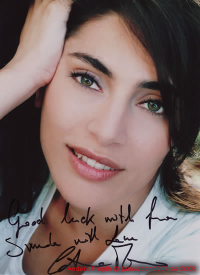 Caterina Murino From Sweden with Love