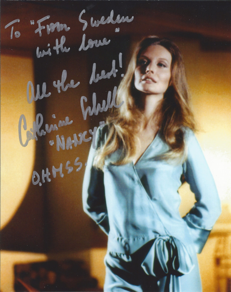 Catherine Schell From Sweden with Love