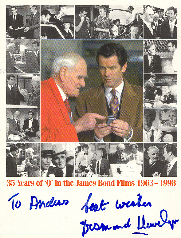 Desmond Llewelyn From Sweden with Love