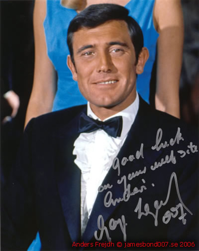 George Lazenby From Sweden with Love