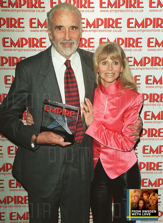 Christopher Lee Britt Ekland