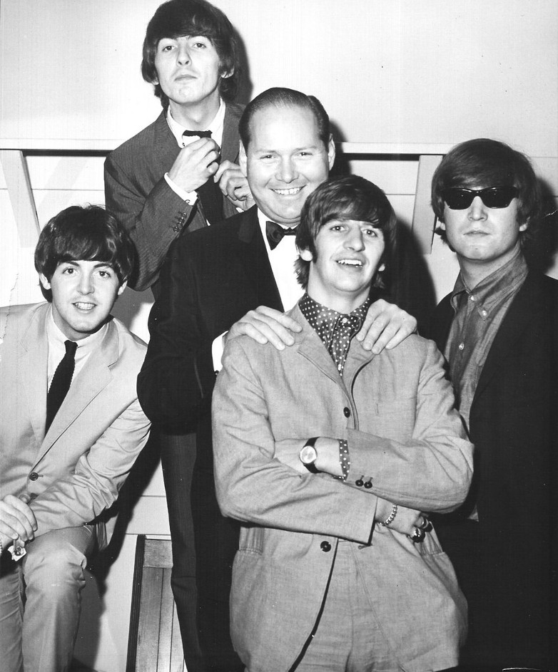 David with The Beatles in the 1960s