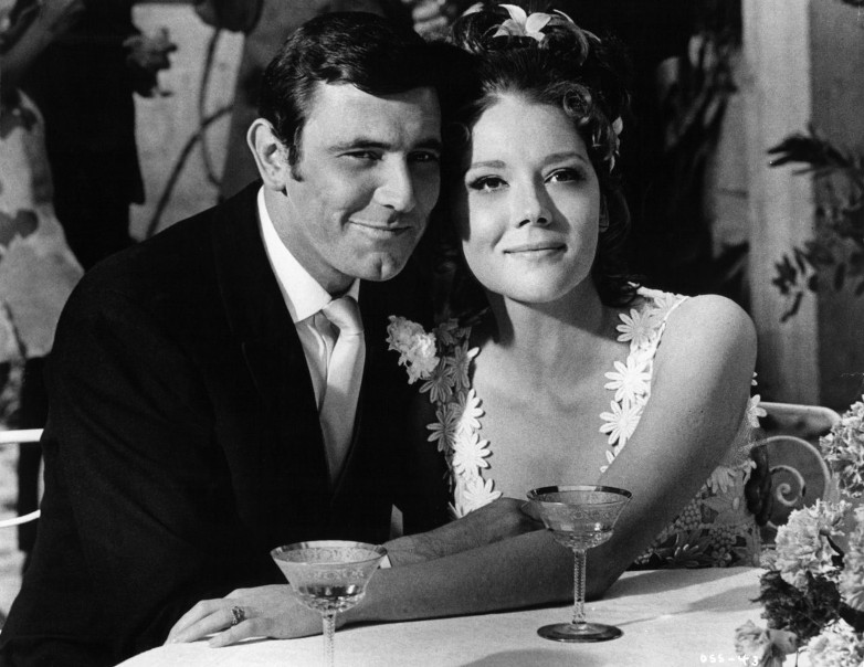 Diana Rigg Tracy On Her Majesty's Secret Service