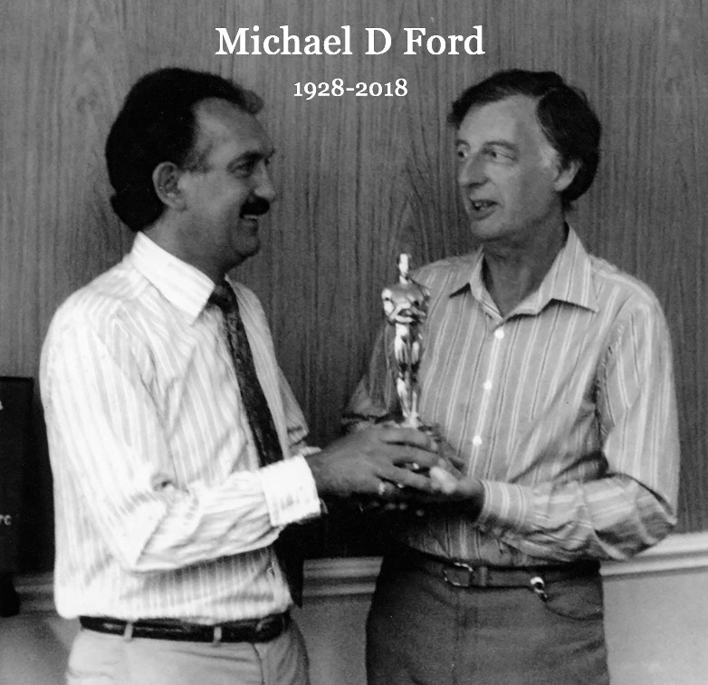 Michael Ford set decorator 1928-2018