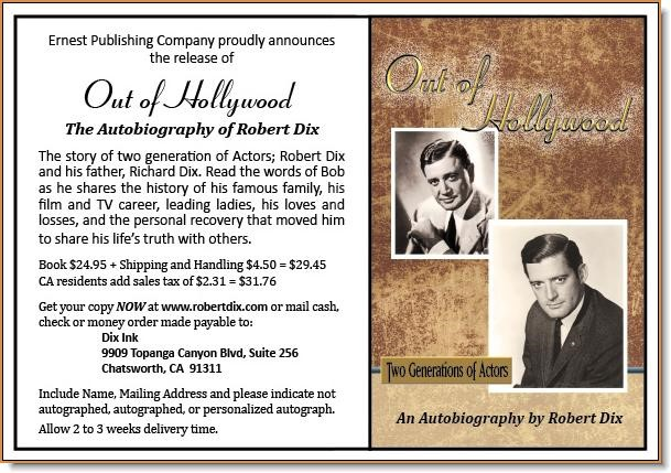 Out of Hollywood av Robert Bob Dix
