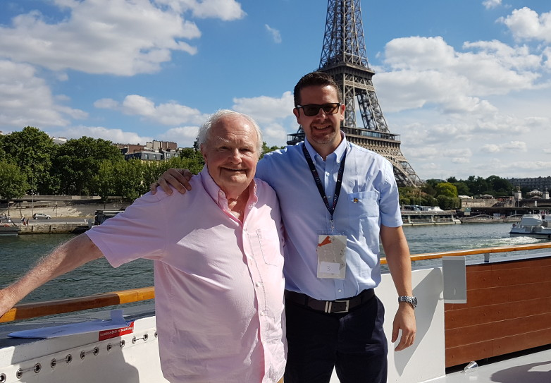 Shane Rimmer & Anders Frejdh in Paris 2017
