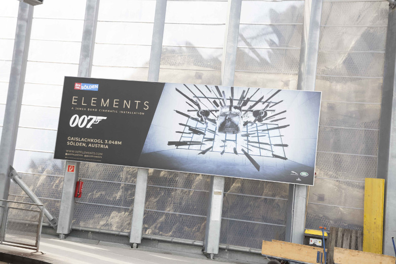 007 Elements billboard
