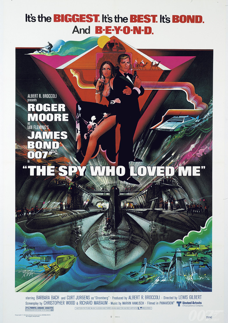 The Spy Who Loved Me filmaffisch