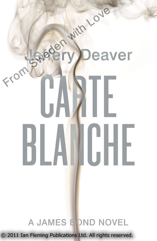 James Bond in Jeffery Deavers Carte Blanche