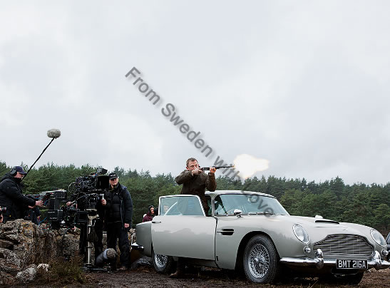 New Aston Martin in Bond 24