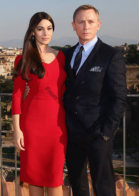 SPECTRE photocall in Rome