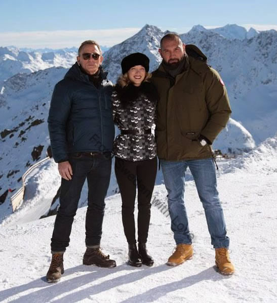 SPECTRE photocall in Solden Austria
