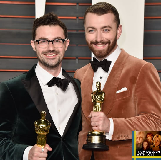 Sam Smith Writings On The Wall 2016 Oscars