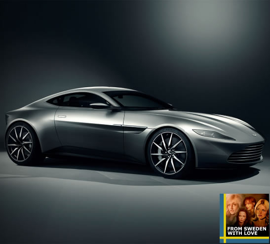Spectre stunt Mark Higgins Aston Martin DB10