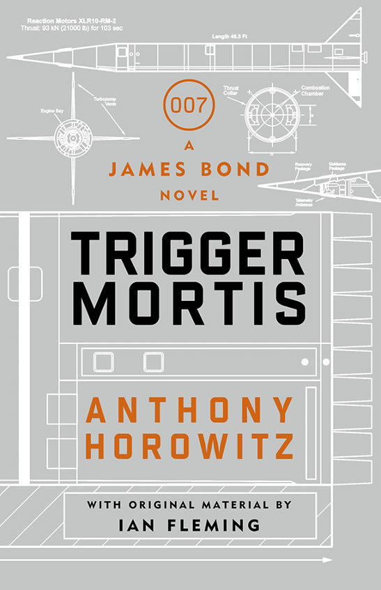 Trigger Mortis new James Bond novel