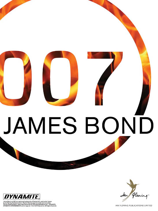Warren Ellis new James Bond comic book series