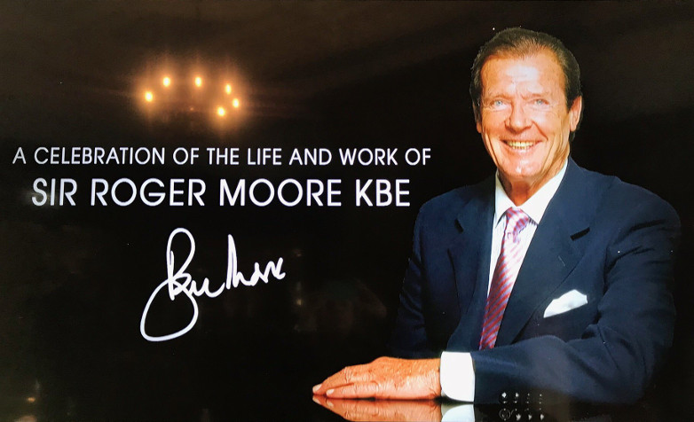 A Celebration Of The Life And Work Of Sir Roger Moore Pinewood Studios