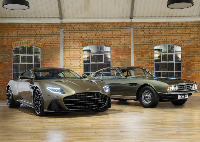 Aston Martin On Her Majesty's Secret Service