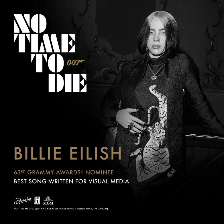 Billie Eilish FINNEAS No Time To Die GRAMMY Award