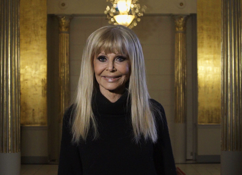 Britt Ekland Lets Dance TV4