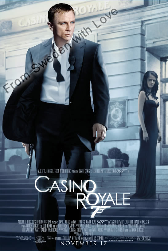 Casino Royale 2006 film poster